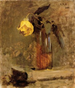 Bunker, Dennis Miller. Yellow Rose. c. 1887.