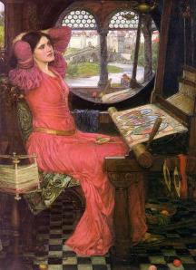 John William Waterhouse I am half-sick of shadows, said the lady of Shalott (poem by Tennyson