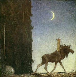 Swedish painter John Bauer (1882 -1918)