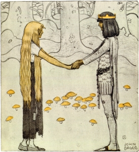 John Bauer Prince without Shadow