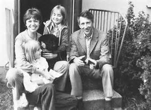 Tomas Tranströmer and his family many years ago