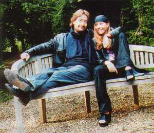 Chris Rea with his daughter Josephine