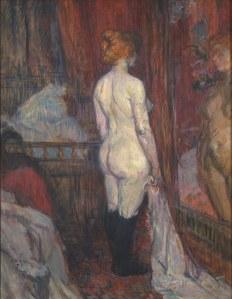 painting by Henri de Toulouse Lautrec