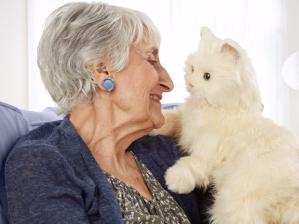 robotic cat for elderly